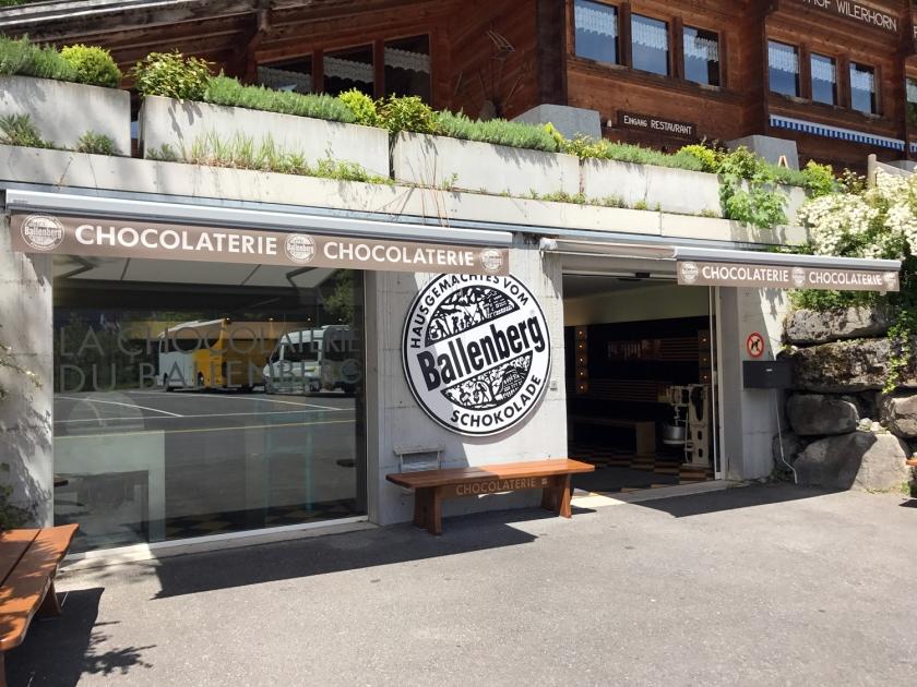 Fábrica e loja de chocolates