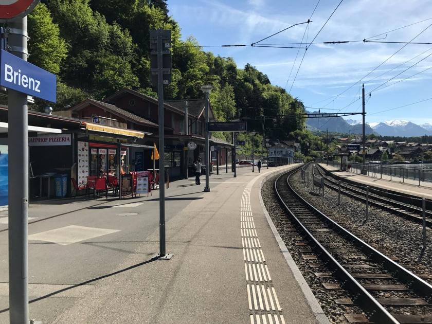 Estação de trem do vilarejo