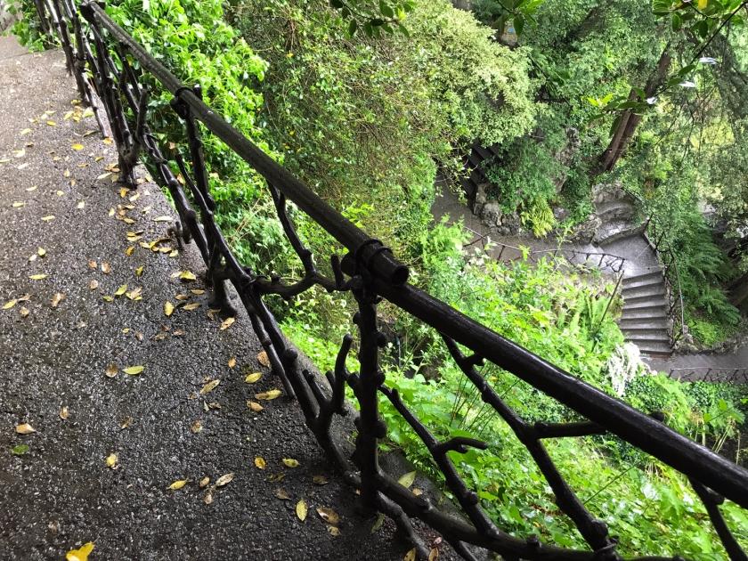 Escadarias do jardim