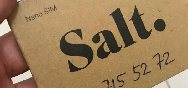 Empresa de telefonia Salt.