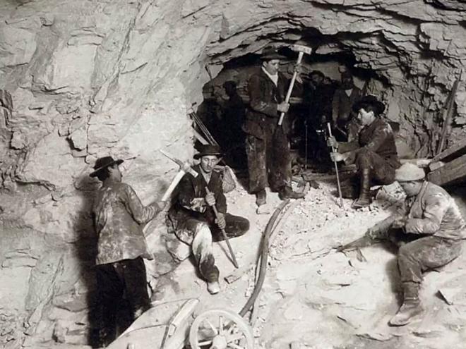 Abertura do túnel