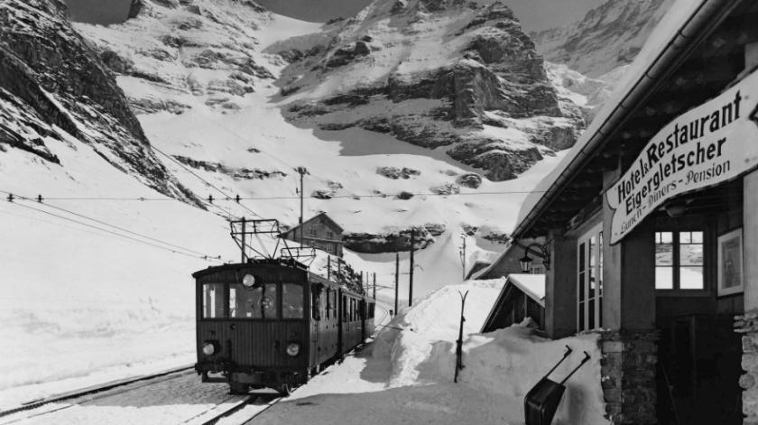 Primeira estação da ferrovia