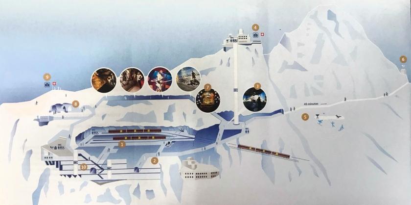 Mapa dos atrativos