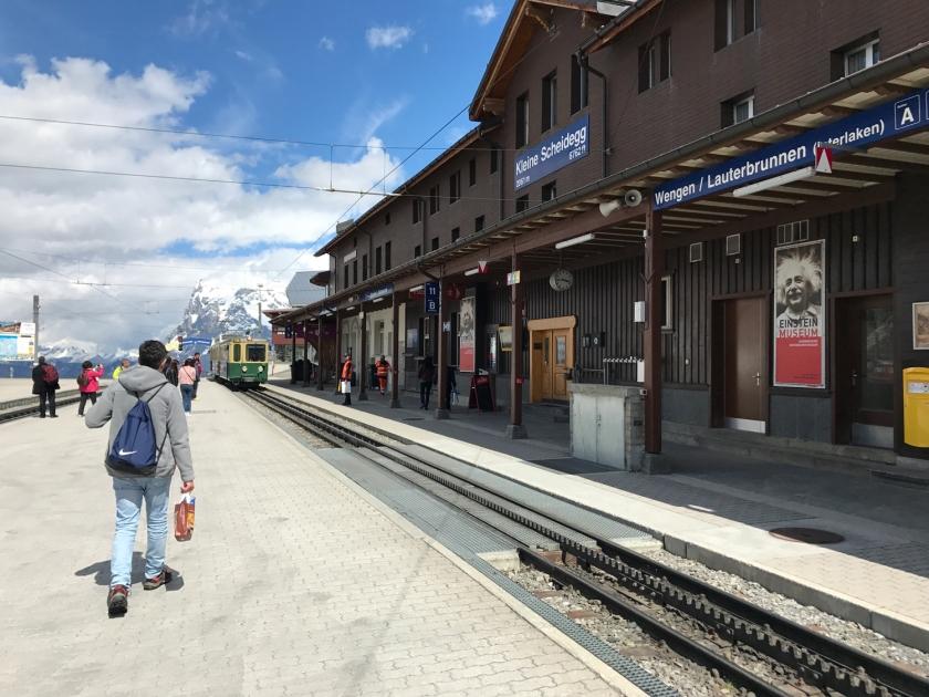 Estação de trens Kleine Scheidegg