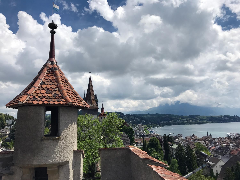 Vista do terraço da Männliturm
