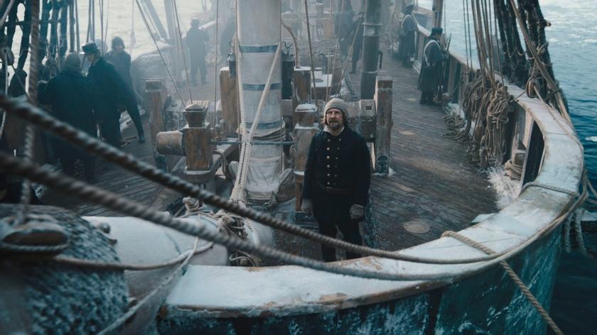 Barco da expedição