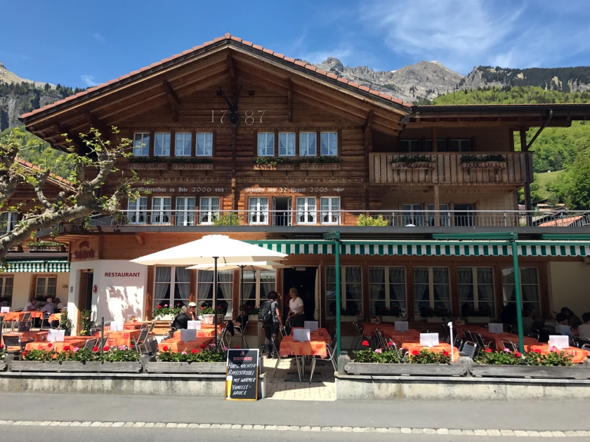 Hotel e restaurante Steinbock