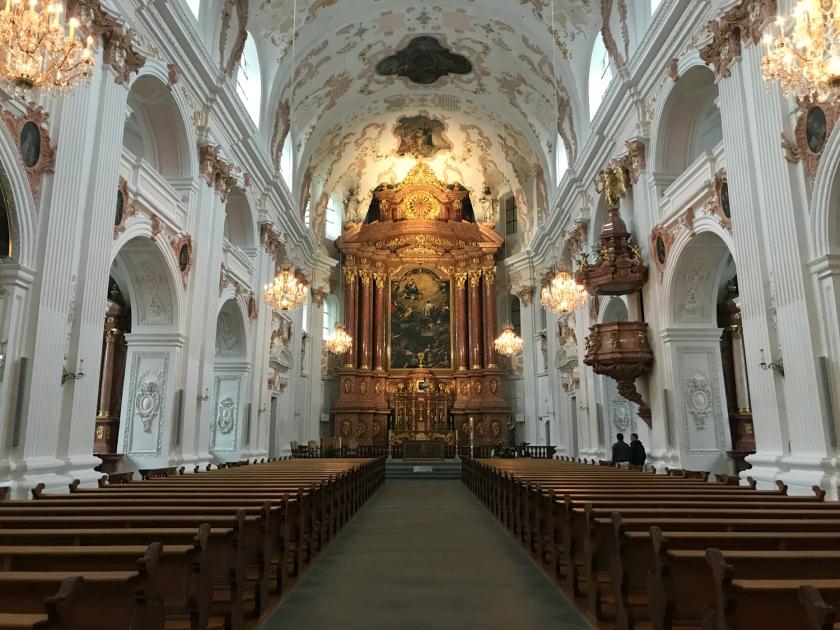 Interior da Jesuitenkirche