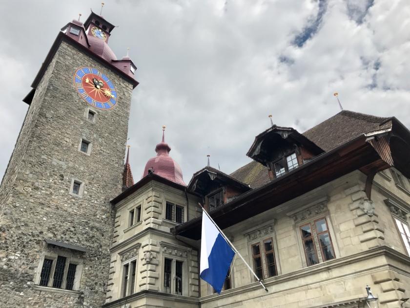 Altes Rathaus e Kornschütte