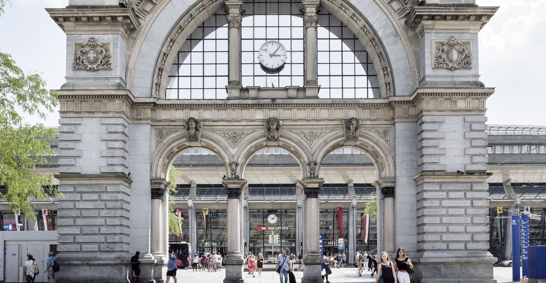 Antiga entrada da estação
