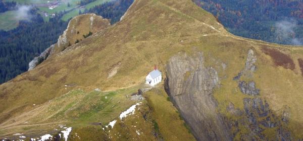 Klimsenkapelle, uma capela no meio do nada