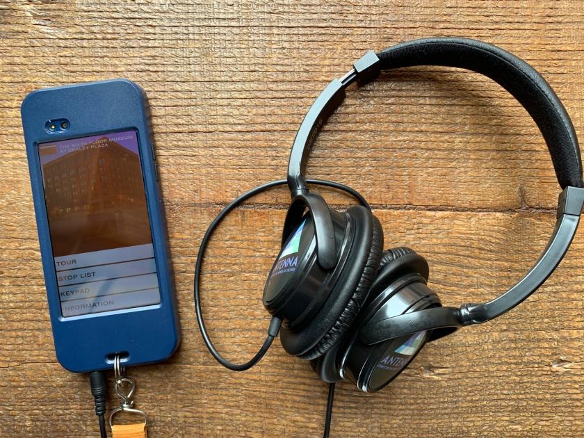 O guia de áudio é distribuído para todos