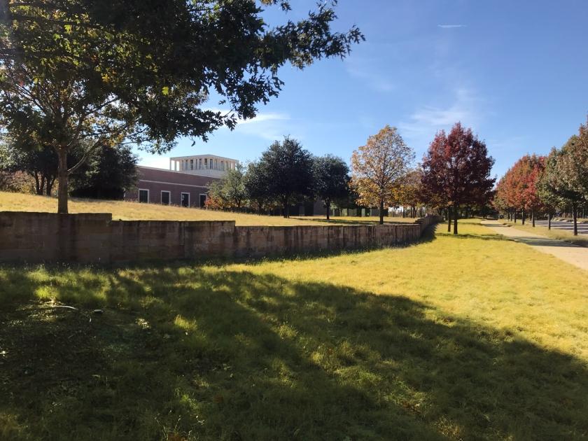 Parque onde fica o museu