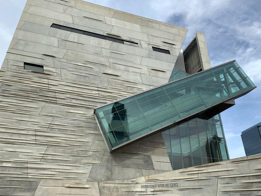 Arquitetura inovadora do museu