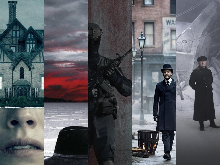 Retrospectiva de séries assistidas em 2018.