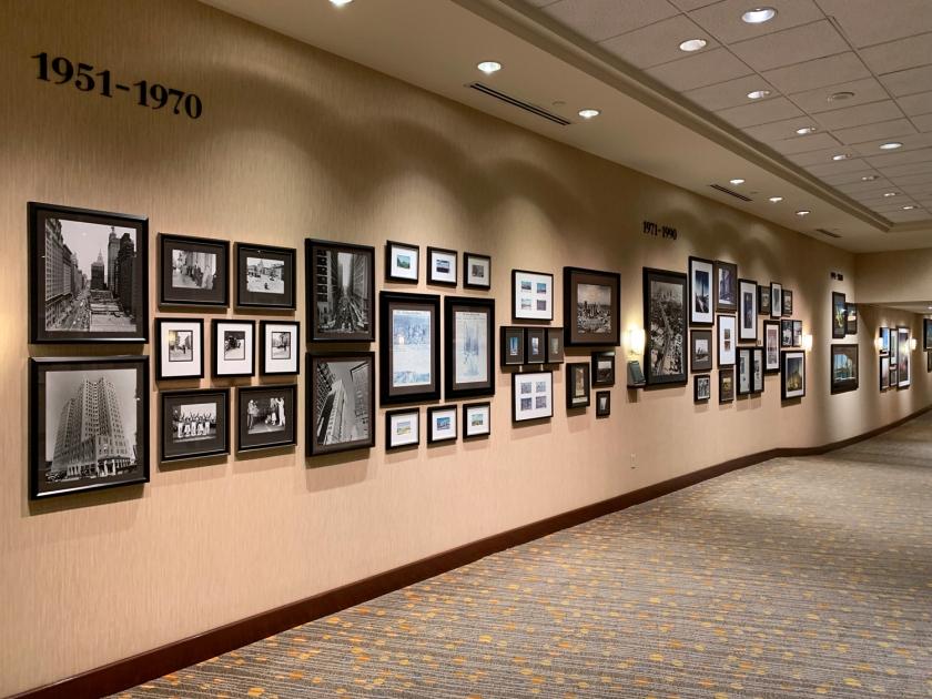 Exposição de fotografias da cidade