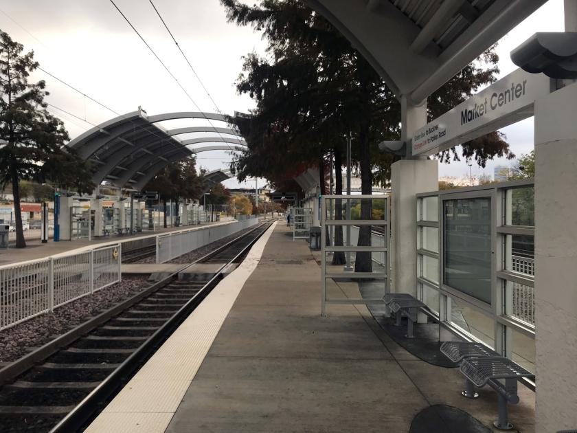 Estação do metrô de superfície