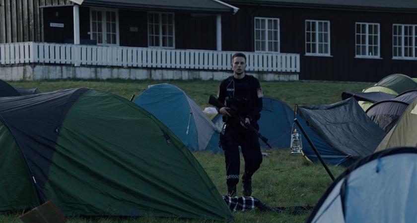 Ataque no acampamento estudantil