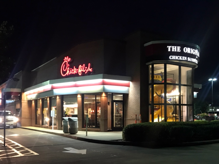 Restaurante do Chick-fil-A