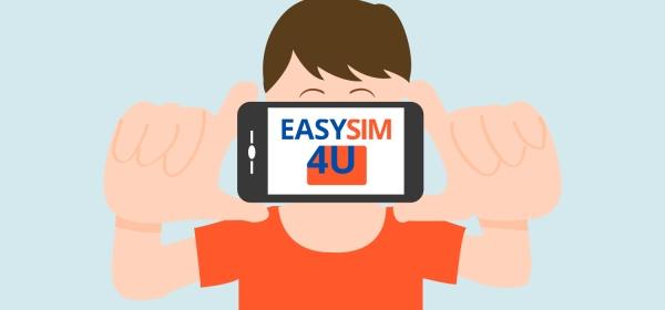 Internet no celular com chip da EasySim4U