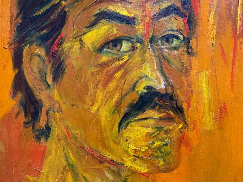 Auto-retrato de Alberto Mijangos