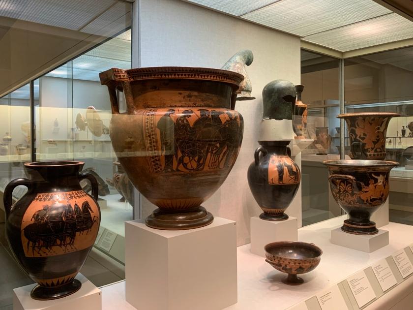 Vasos gregos com gravuras