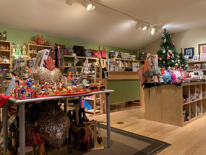 A loja do museu