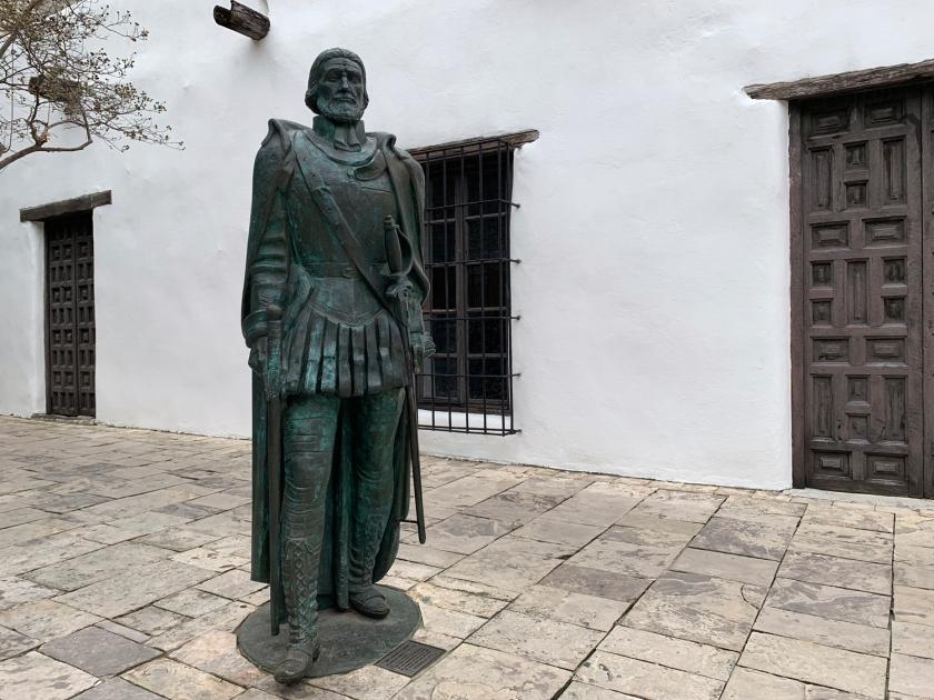 Estátua do governador