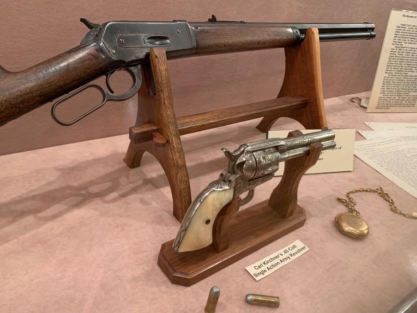 Armas em exposição