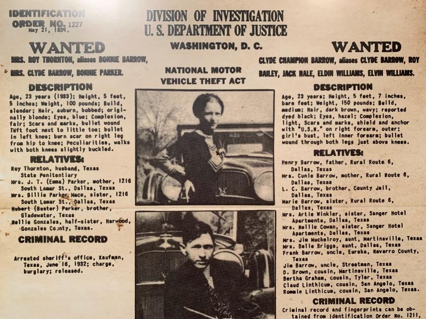 Investigação sobre Bonnie & Clyde