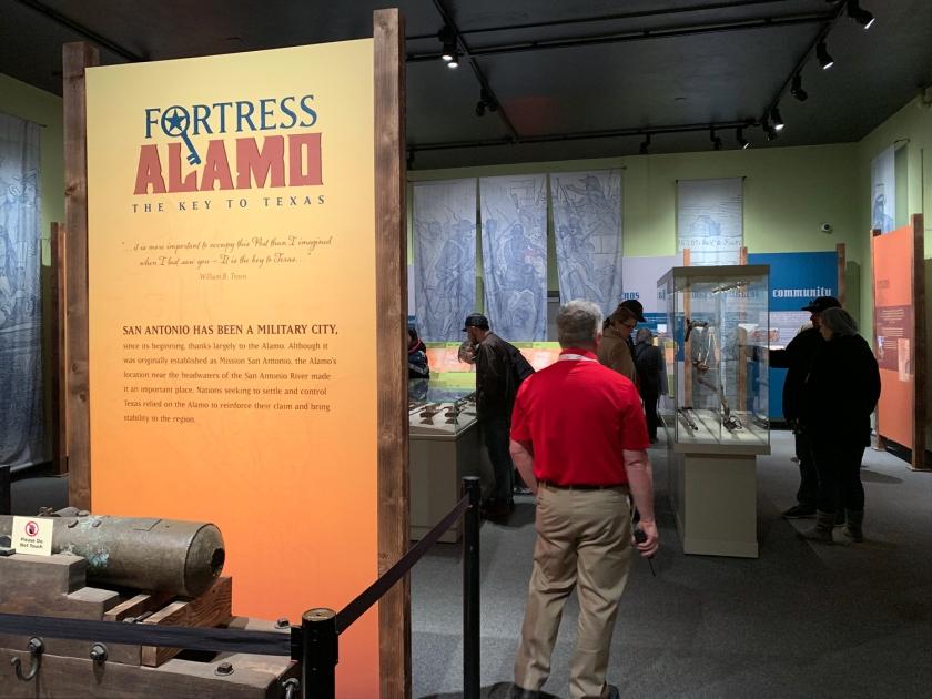 Exposição sobre a fortaleza