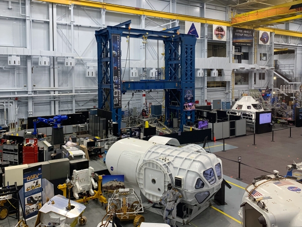 Astronaut Training Facility Tour