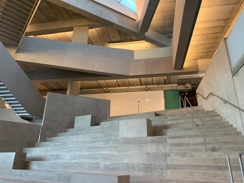 Arquitetura moderna da escola