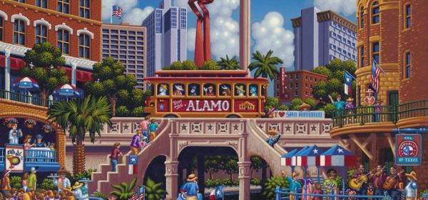 Mapa turístico de San Antonio