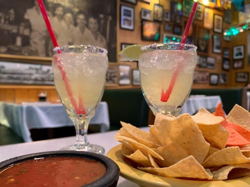 Margaritas e nachos