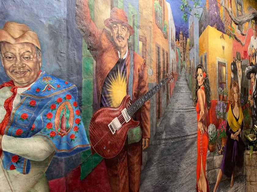 Mural Sonho Americano