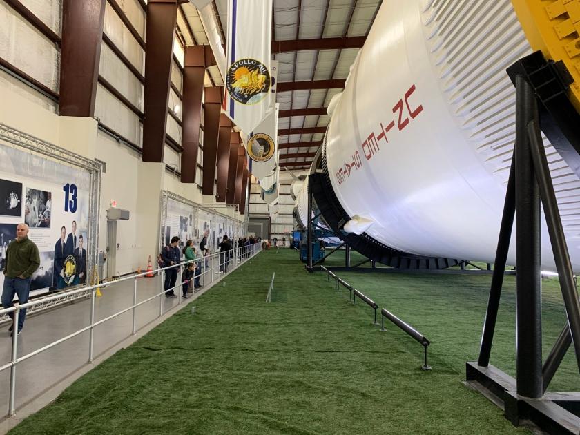 Dimensão do foguete