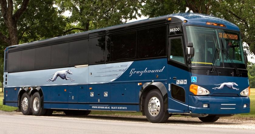 Ônibus de viagem da Greyhound
