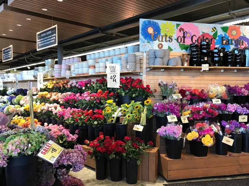 Flores e decorações