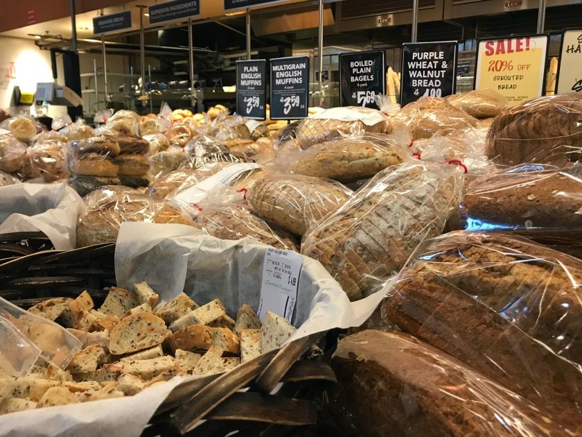 Degustação de pães