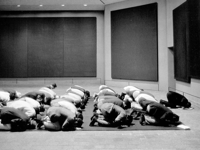 Espaço ecumênico para meditação