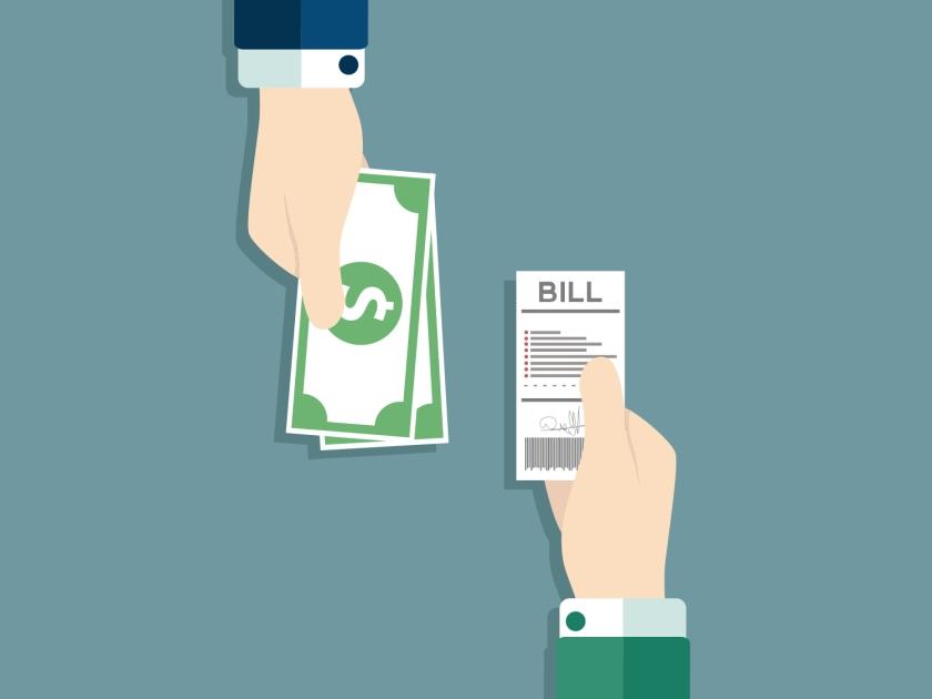 Comprovante de renda e forma de pagamento