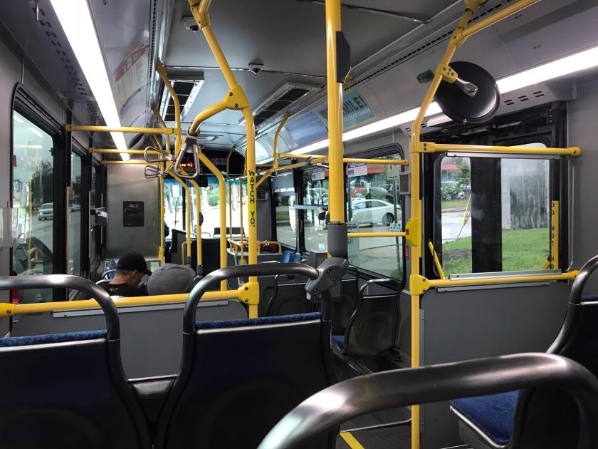 Andando de ônibus