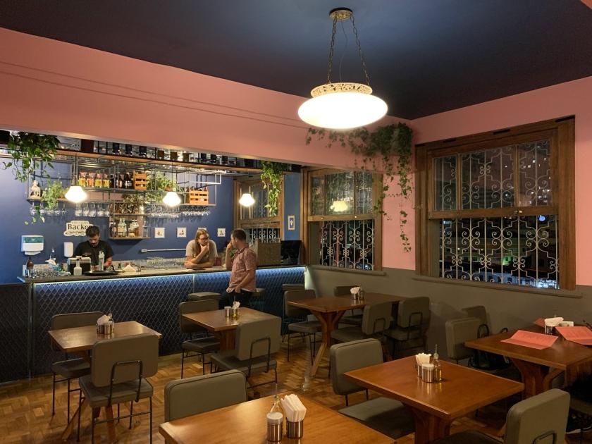Ambiente do bar