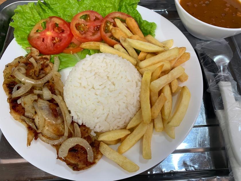 Almoço do restaurante Panela Brasil