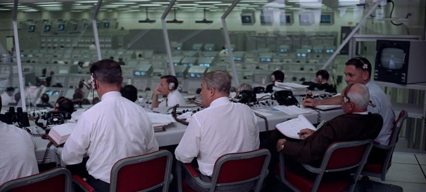 Sala de controle da missão