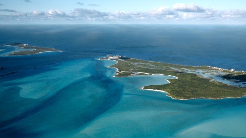 Ilha usada no material promocional