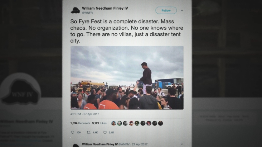 Postagens em redes sociais marcaram o evento