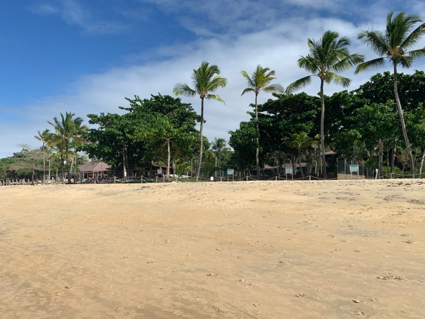 Pousadas e hotéis na beira da praia