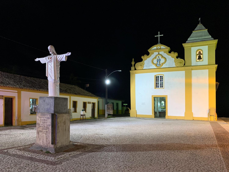 Fachada do santuário